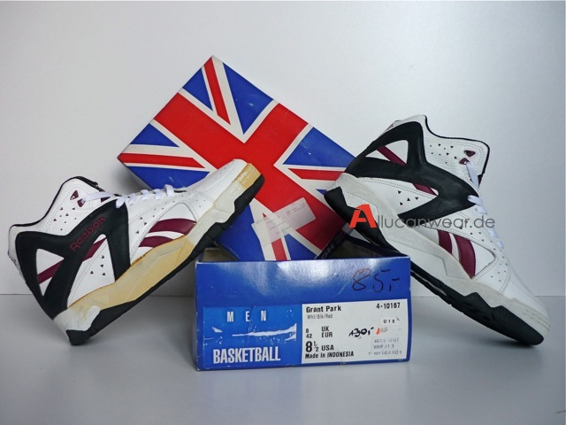 89499e93777681 UNWORN VINTAGE REEBOK BLACKTOP GRANT PARK BB SPORT SHOES. Price is VAT  inclusive but plus transfer costs  149.99 €. Description
