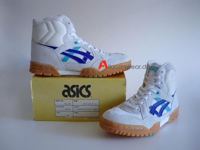 Allucanwear - vintage shoes & clothing - UNWORN VINTAGE ASICS ...